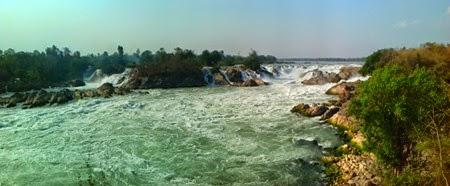 cascadas en las 4000 Islas