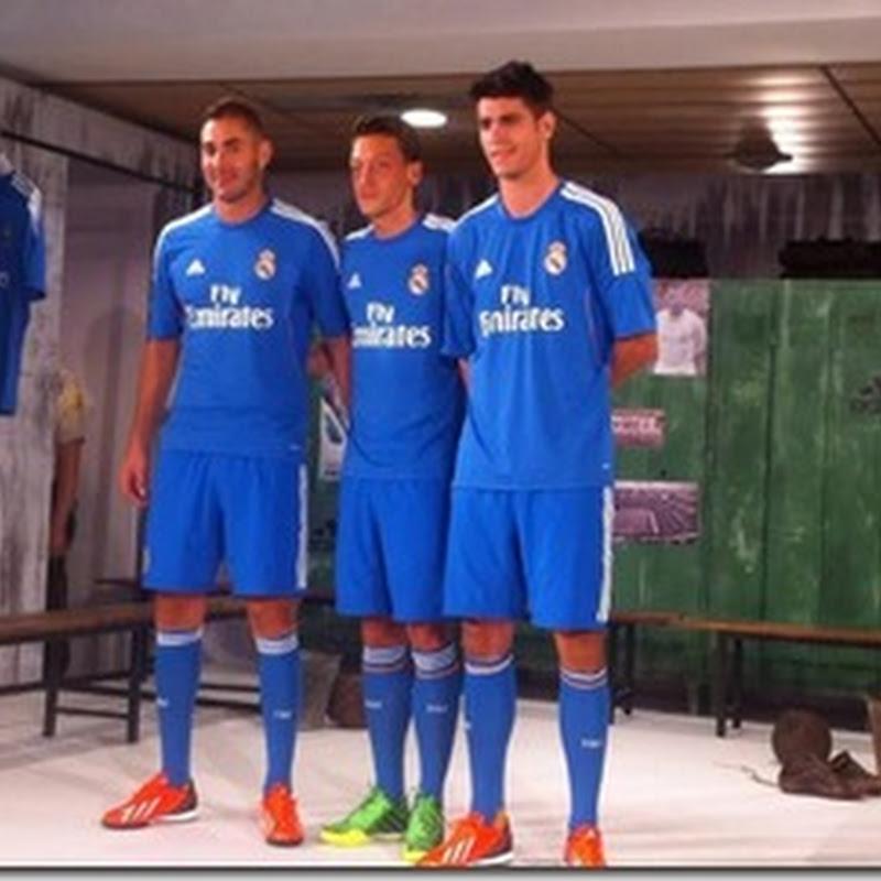 El Real Madrid presentó su segunda equipación para la próxima temporada