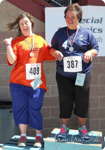 Katie - Special Olympics Medal Stand