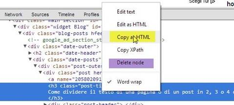 copiare-codice-elemento