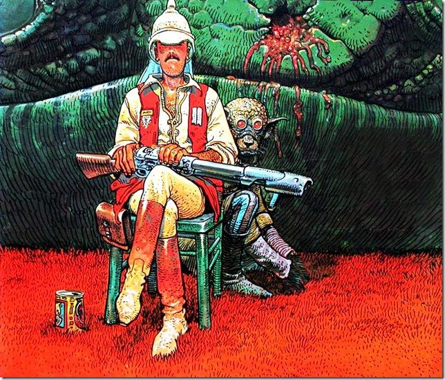 Jean-Giraud-Moebius-Hunter