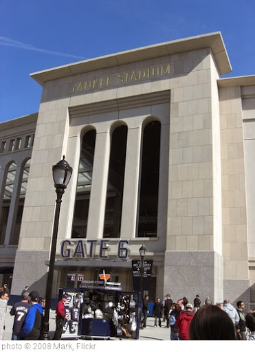 'Yankee Stadium 1' photo (c) 2008, Mark - license: http://creativecommons.org/licenses/by-nd/2.0/