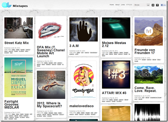 QCmixtapes : Listen Music Online in Different ways