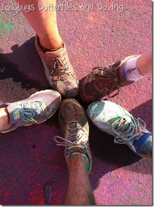 Color Run Feet