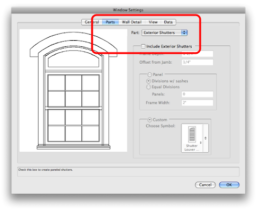 Making Symbolizing Placing Windows Architectural Drafting In Vectorworks