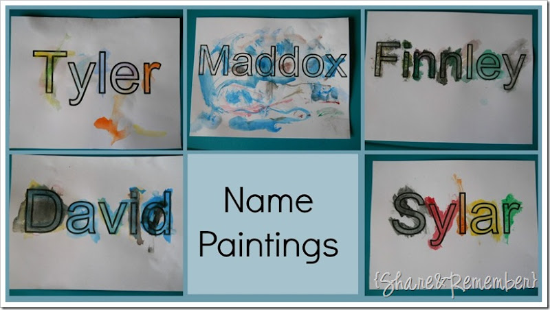 name collage