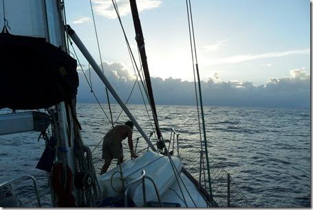 viagem no veleiro Doris 060