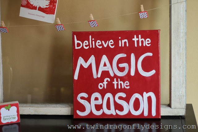 DIY Christmas Sign (1)
