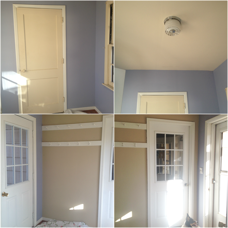 Before mudroom Collage