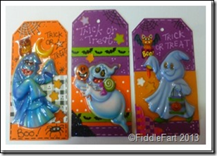 Halloween Trick or Treat Bags with tags. 4