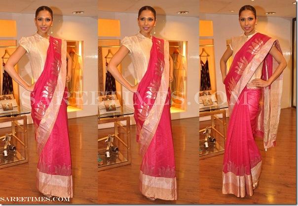 Rahul_Mishra_Pink_Designer_Saree