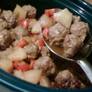 Steph's Sweet and Sour Meatballs
