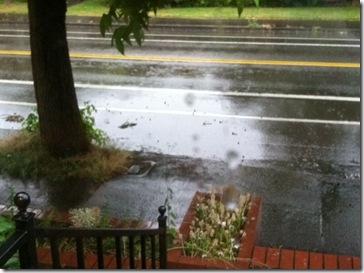 race day rain