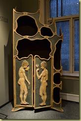 Alesund Art Nouveau Wardrobe