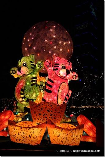 2010台北燈節(台北燈會)-金元寶