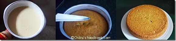 eggless sponge cake recipe step by step