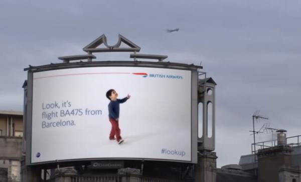 Creatividad publicitaria britishairway