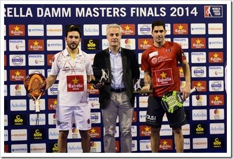 Sanyo Gutiérrez & Maxi Sánchez Campeones en el Masters Finals WPT 2014 frente a la mejora pareja de la historia.