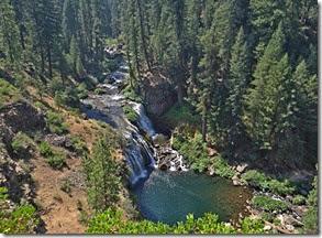 Mt. Shasta and waterfalls 011