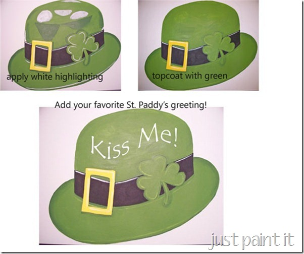 shamrock paint instructions 2