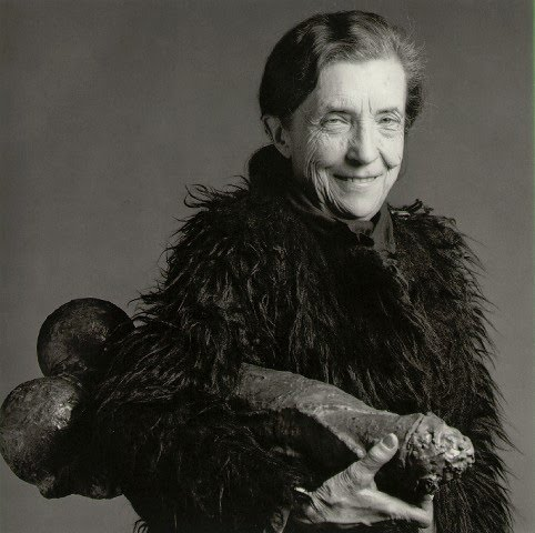Robert Mapplethorpe [ Louise Bourgeois ] 1982 -from the  san-francisco chronicle.jpg