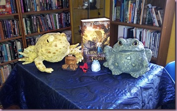 Toads counting down to book release 20130226_153629