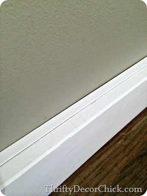 making baseboards taller