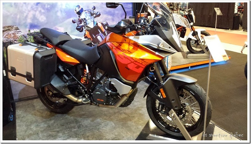 DS Aventure Quebec KTM 1190 Adventure Orange