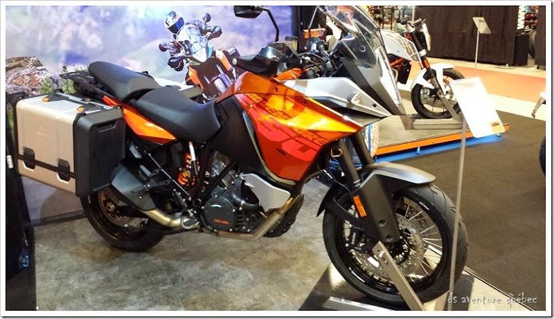 DS Aventure Quebec KTM 1190 Adventure Orange