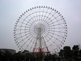 "Odaiba's ""Palette Town"" giant ferris wheel - one of the largest in the world"