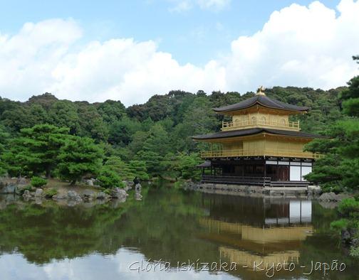 Kyoto - Templo Kinkakuji - Gloria Ishizaka 2