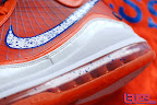 nike air max lebron 7 pe hardwood orange 4 03 Yet Another Hardwood Classic / New York Knicks Nike LeBron VII