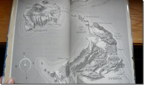 Map of Neversink, Tytonia, and various points of interest by Sam Nielson
