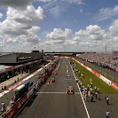 Start of the 2007 F1 GP of Britain