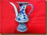Teko keramik Yuan - kiri