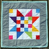 Gwenny_Penny_Scrap_Jar_Stars_Doll_Mini_Quilt_A