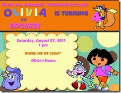 Dora Birthday Invite-001