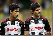 Lucas Di Grassi e Jamui Alguersuari