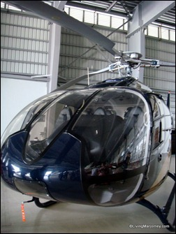 Eurocopter Seven-seater helicopter (Front View)