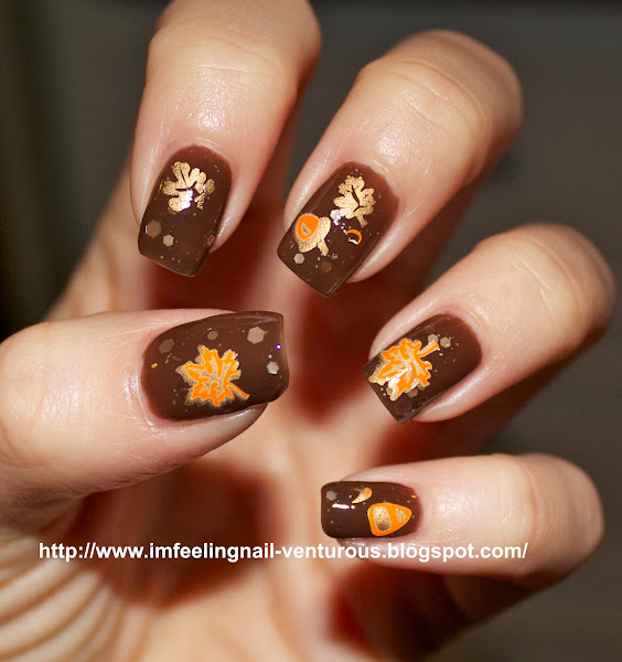 Simple Fall Nail Designs: Nail Designs, Hair Styles