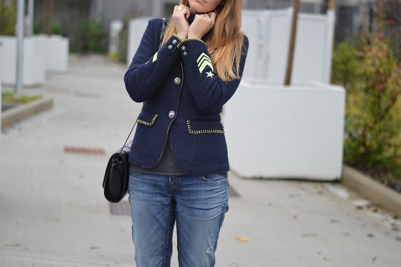 De' Hart, Giacca De' Hart, True Religion Jeans, True Religion, Zara, Zara shoes, Zara bag, fashion blogger, fashion blogger italiane, fashion blogger firenze