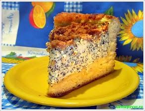 Маковый пирог www.samapovar.ru