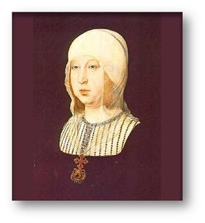 Retrato de Isabel I de Castilla. Juan de Flandes