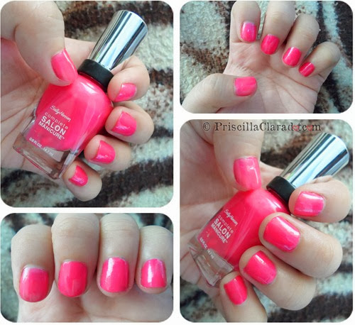 Priscilla Clara beauty blogger review Sally Hansen nail polish_3