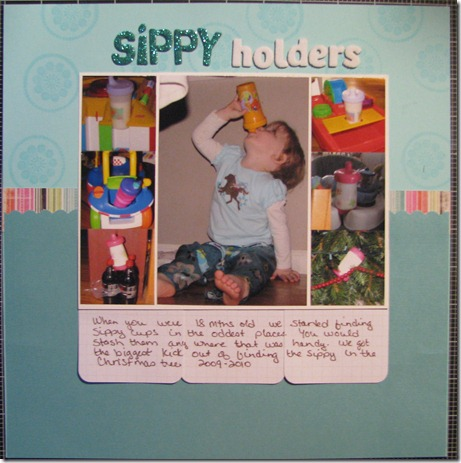 14 sippy holders