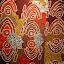 An Example of Aboriginal Artwork - Adelaide, Australia