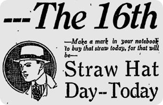 straw day june