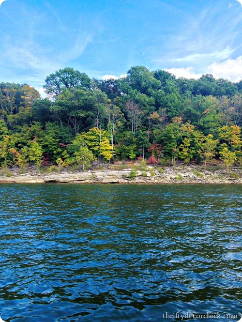 Lake Monroe shore