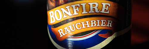 image of Sam Adams' Bonfire Rauchbier courtesy of our Flickr page