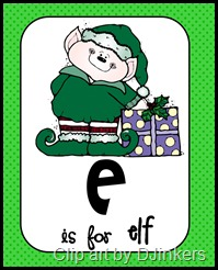 E is for elf pic